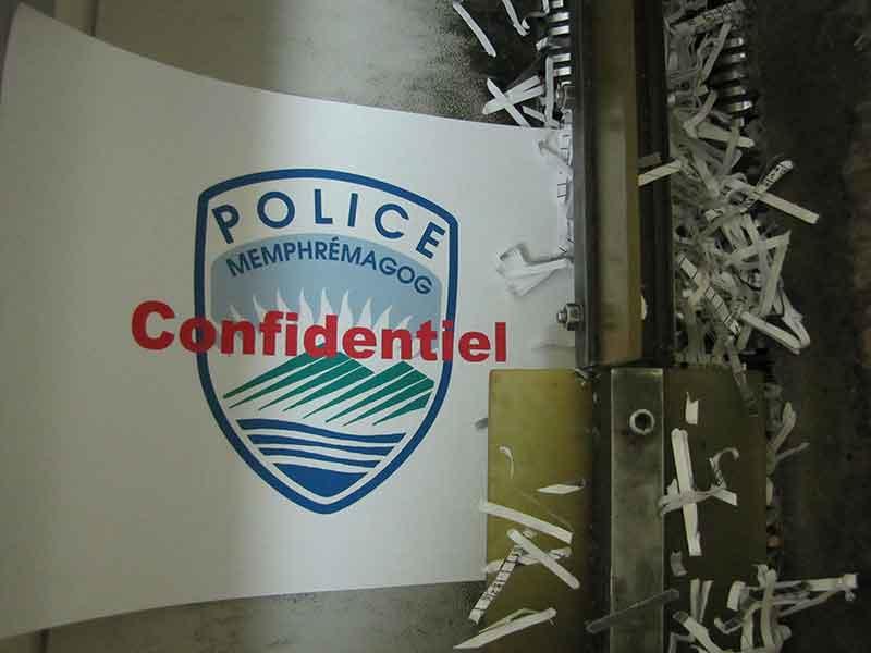 Journée déchiquetage pour contrer le vol d'identité