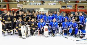 Partie de hockey, RPM vs Carnicas juvénile de La Ruche
