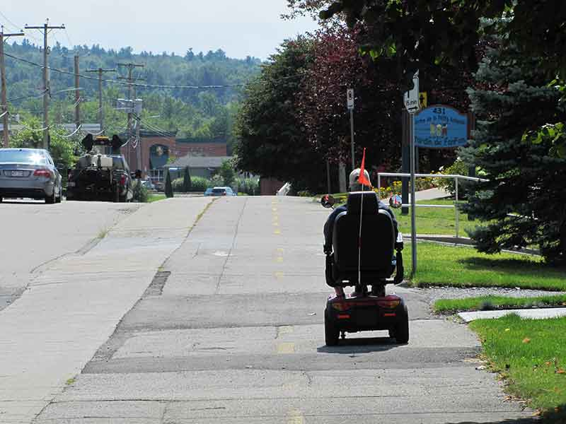 Les aides à la mobilité motorisées