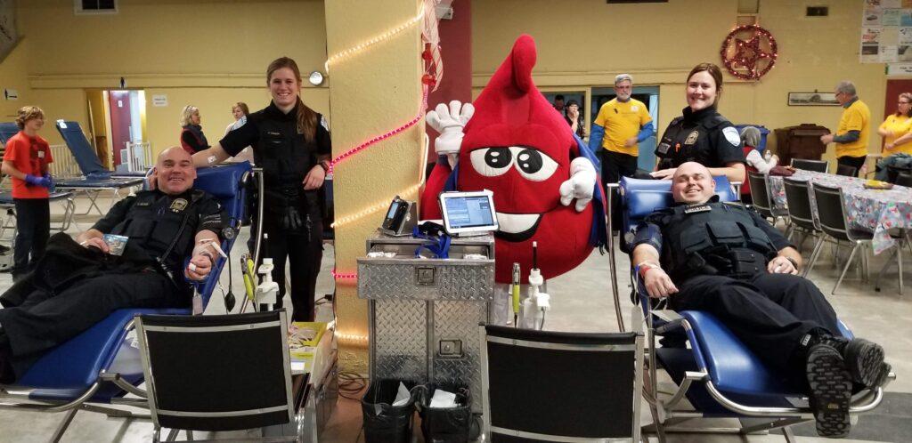 La collecte annuelle de sang de la RPM