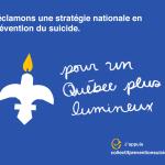 Le collectif pour une stratégie nationale en prévention du suicide