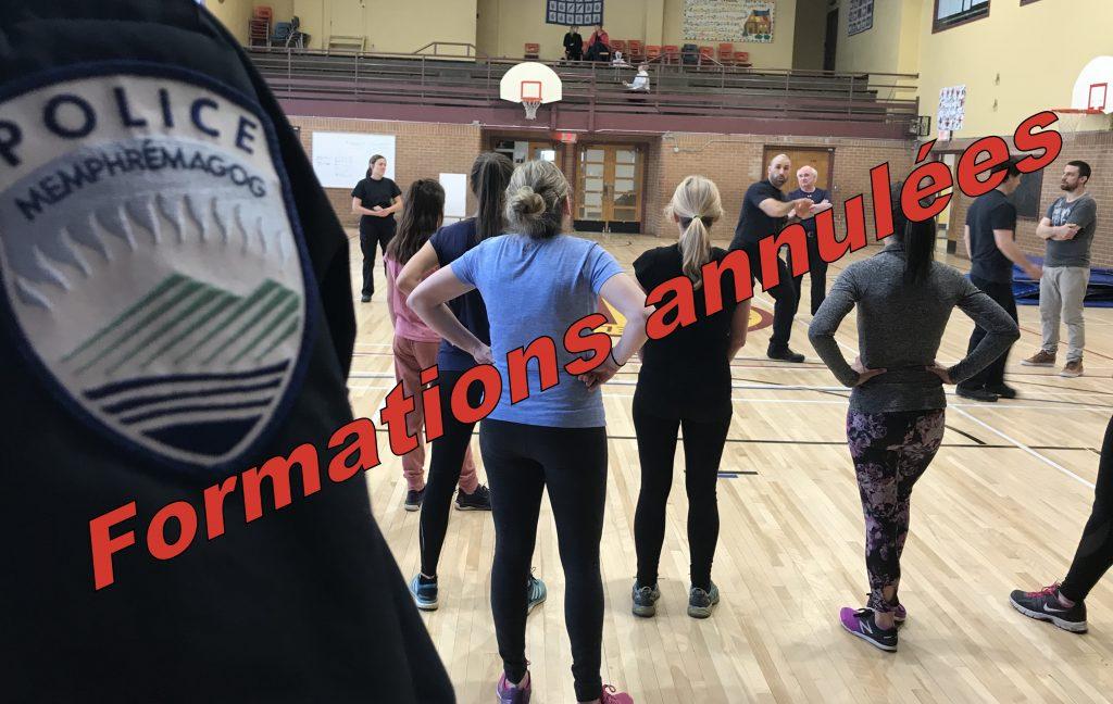 Les cours d'autodéfense pour les coureuses sont de retour!