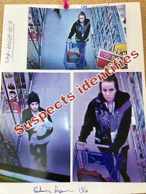 Voleurs à l'étalage recherchés