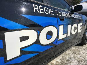 Arrêté au palais de justice de Sherbrooke