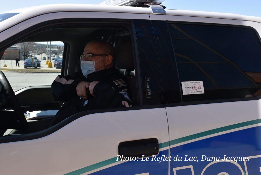 La RPM veut rassurer la population suite à l'annonce de policiers infectés à la Covid-19