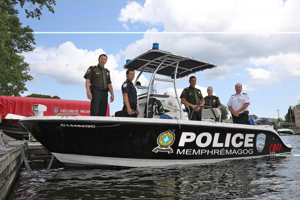 Nouveau Partenariat entre la Sûreté du Québec et la Régie de police de Memphrémagog
