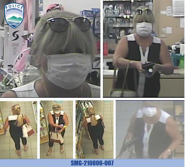 La RPM cherche à identifier une suspecte de vol à l'étalage